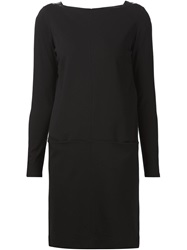Ralph Lauren Black Label Ralph Lauren Black Boat Neck Shift Dress