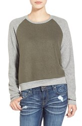 Junior Women's Project Social T Colorblock Pullover
