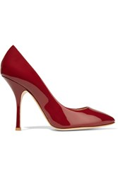 Giuseppe Zanotti Patent Leather Pumps Red