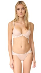 Natori Envious Plunge Contour Convertible Bra Light Cafe Ivory