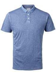 Selected Homme Deli Short Sleeve Polo Shirt Total Eclipse