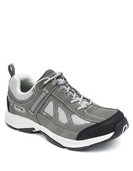 Rockport Rock Cove Leather Sneakers Grey Suede