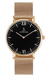 Kapten And Son Women's 'Campina' Mesh Strap Watch 36Mm