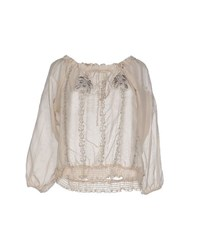 Cristinaeffe Collection Shirts Blouses Women Beige