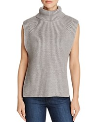 Rd Style Sleeveless Turtleneck Sweater Compare At 80 Gray