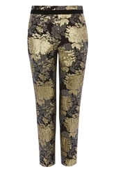 Coast Lovato Jacquard Trousers Gold