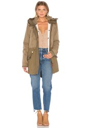Maison Scotch Winter Parka Olive