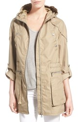Women's Sam Edelman Roll Sleeve Cotton Twill Utility Jacket