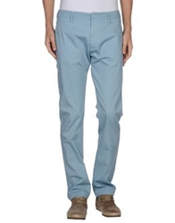 Gold Case By Rocco Fraioli Casual Pants Sky Blue