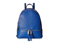 Michael Michael Kors Rhea Zip Medium Backpack Electric Blue Backpack Bags