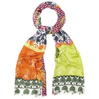 White Stuff Wilderness Print Scarf Multi