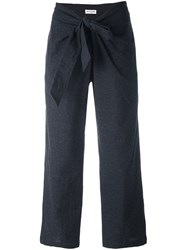 Masscob Cropped Trousers Grey