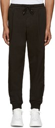 Mcq By Alexander Mcqueen Black Chino Trackpant Trousers