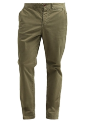 Pier One Chinos Regular Slim Garment Dyed Khaki