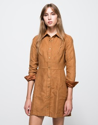 Halston Dress In Camel