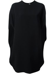 Gianluca Capannolo Batwing Sleeve Dress Black
