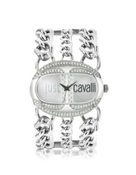 Just Cavalli Trinity Collection Chain Bracelet Watch