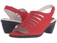 David Tate Lexus Red Women's Sandals