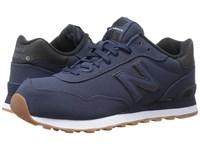 New Balance Ml515 Navy Black Synthetic Men's Classic Shoes