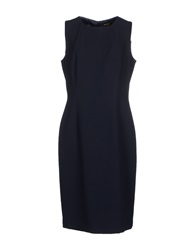 M.O.D. Mod Knee Length Dresses Dark Blue