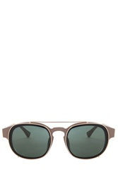 Dries Van Noten Sand Gold Sunglasses Multi