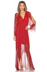 Twelfth St. By Cynthia Vincent Gypset Maxi Dress Red