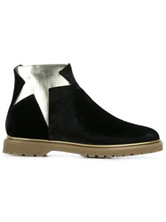Charlotte Olympia Star Boots Black