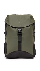 Rains Runners Bag Backpack Green