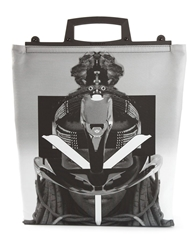 Givenchy Tribal 'Rave' Tote Grey