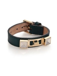 Proenza Schouler Ps11 Small Linosa Leather Bracelet Tan Pine