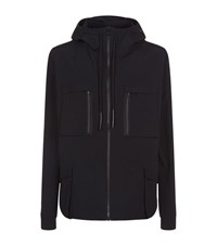Adyn Military Hooded Windbreaker Male Black