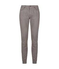 Aquascutum London Saltsfleet Cotton Twill Jeans Dark Grey