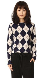 Ganni Mercer Sweater Eclipse Harlequin