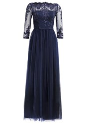 Chi Chi London Occasion Wear Navy Dark Blue
