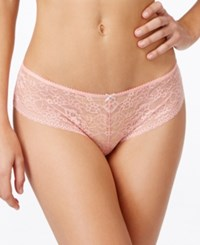 Heidi Klum Intimates Daydream Ride Sheer Lace Culotte H34 1370 Quartz Pink Cream Tan