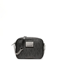 Michael Kors Jet Set Logo Crossbody Black