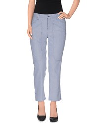 Jeckerson Trousers 3 4 Length Trousers Women Blue