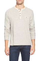 Men's Jeremiah Pique Long Sleeve Henley