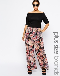 Alice And You Floral Print Palazzo Trouser Multi