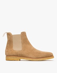 Common Projects Chelsea In Khaki Suede