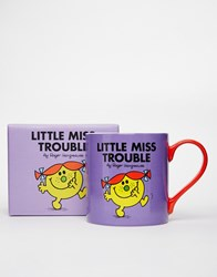 Little Miss Trouble Mug Multi