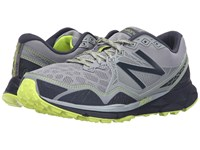 New Balance Mt910v3 Grey Yellow Men's Running Shoes Gray