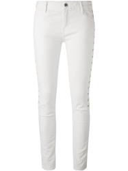Each X Other Side Lace Up Detail Jeans