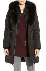 Mackage Women's Down Parka With Genuine Fox Fur Trim