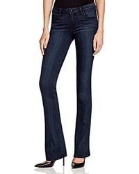 Paige Denim Manhattan Bootcut Jeans In Clayton Dark Wash