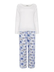 Cyberjammies Porcelain Print Pyjama Set Blue