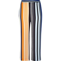River Island Womens Ri Plus Blue Stripe Palazzo Trousers