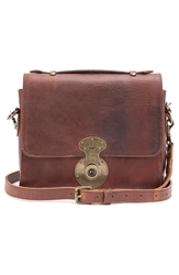 Will Leather Goods 'Quinn' Leather Crossbody Bag Cognac