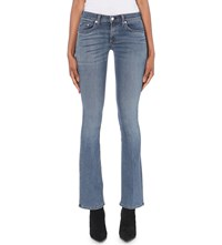 Rag And Bone Elma Bootcut Mid Rise Jeans