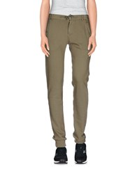 Jcolor Trousers Casual Trousers Women Military Green